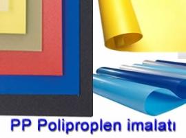 Plastik Poşet PP Polipropilen imalatı