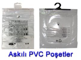 Plastik Poşet Askılıklı PVC Poşetler