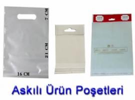 Plastik Poşet Askılı Poşet imalati