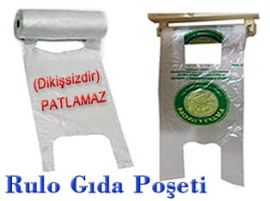 Plastik Poşet Rulo gıda poşeti