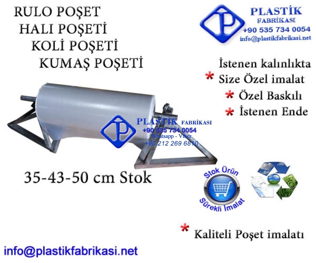 Orijinal Halı Yıkama poşeti 43 cm Plastik Poşet Asetat PP Pvc Pet Şeffaf Sızdırmaz Kap