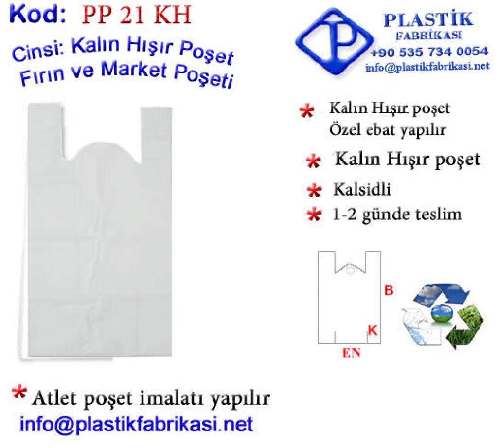 Ucuz Market Poşeti Kalın Hışır Plastik Poşet Asetat PP Pvc Pet Şeffaf Sızdırmaz Kap