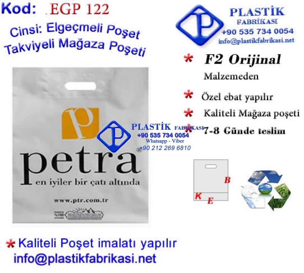 Özel Baskılı Mağaza Poşeti 122 Plastik Poşet Asetat PP Pvc Pet Şeffaf Sızdırmaz Kap