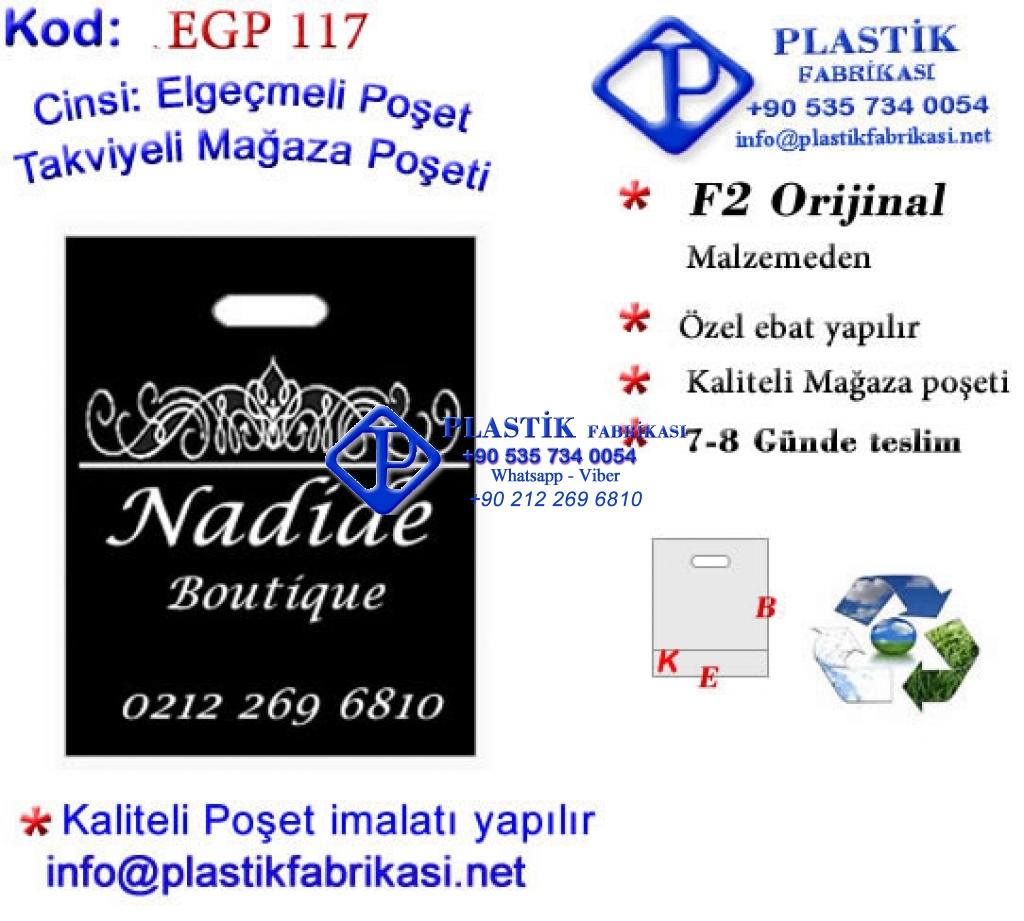 Özel Baskılı Mağaza Poşeti 117 Plastik Poşet Asetat PP Pvc Pet Şeffaf Sızdırmaz Kap
