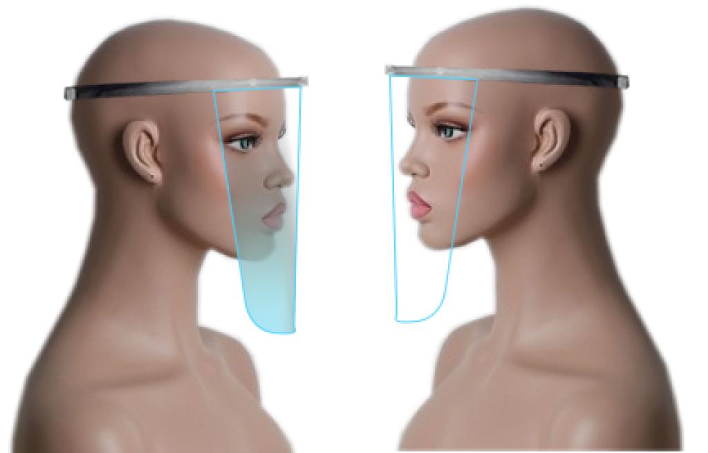PVC maske  İmalatı Plastik Poşet Asetat PP Pvc Pet Şeffaf Sızdırmaz Kap