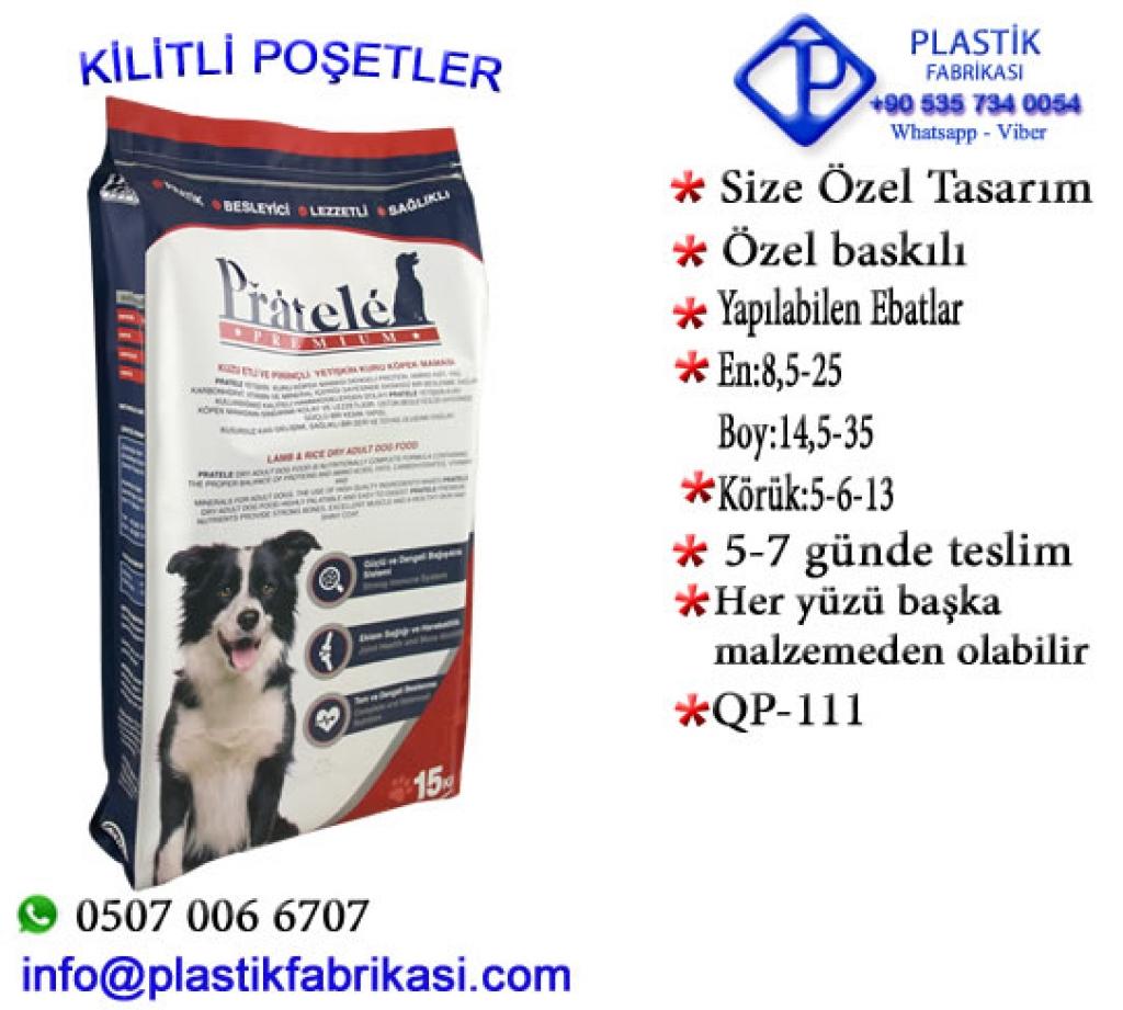 Quadro poşet imalatı yapılır. QP-111 Plastik Poşet Asetat PP Pvc Pet Şeffaf Sızdırmaz Kap