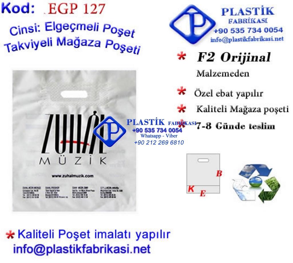 Özel Baskılı Takviyeli Poşet 127 Plastik Poşet Asetat PP Pvc Pet Şeffaf Sızdırmaz Kap