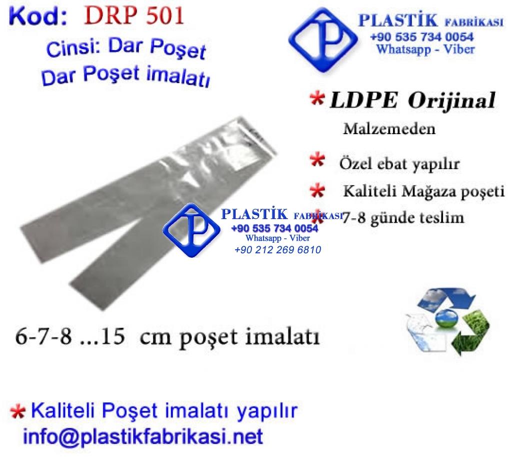 Dar Rulo poşet imalatı 501 Plastik Poşet Asetat PP Pvc Pet Şeffaf Sızdırmaz Kap