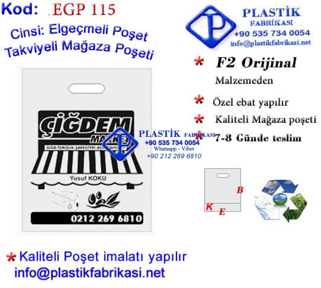 Özel Baskılı Mağaza Poşeti 115 Plastik Poşet Asetat PP Pvc Pet Şeffaf Sızdırmaz Kap