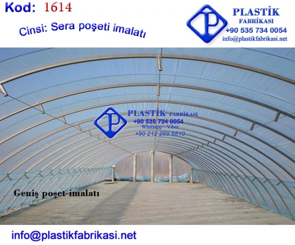 Sera örtüsü imalatı 1614 Plastik Poşet Asetat PP Pvc Pet Şeffaf Sızdırmaz Kap