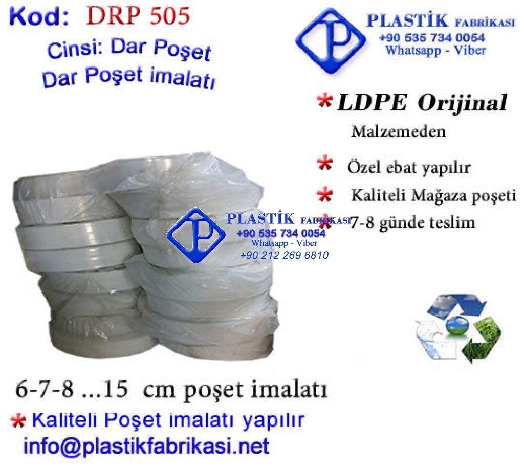 Dar Rulo poşet imalatı 503 Plastik Poşet Asetat PP Pvc Pet Şeffaf Sızdırmaz Kap
