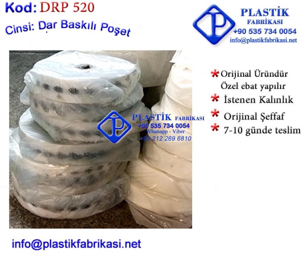 Dar Rulo poşet imalatı 520 Plastik Poşet Asetat PP Pvc Pet Şeffaf Sızdırmaz Kap