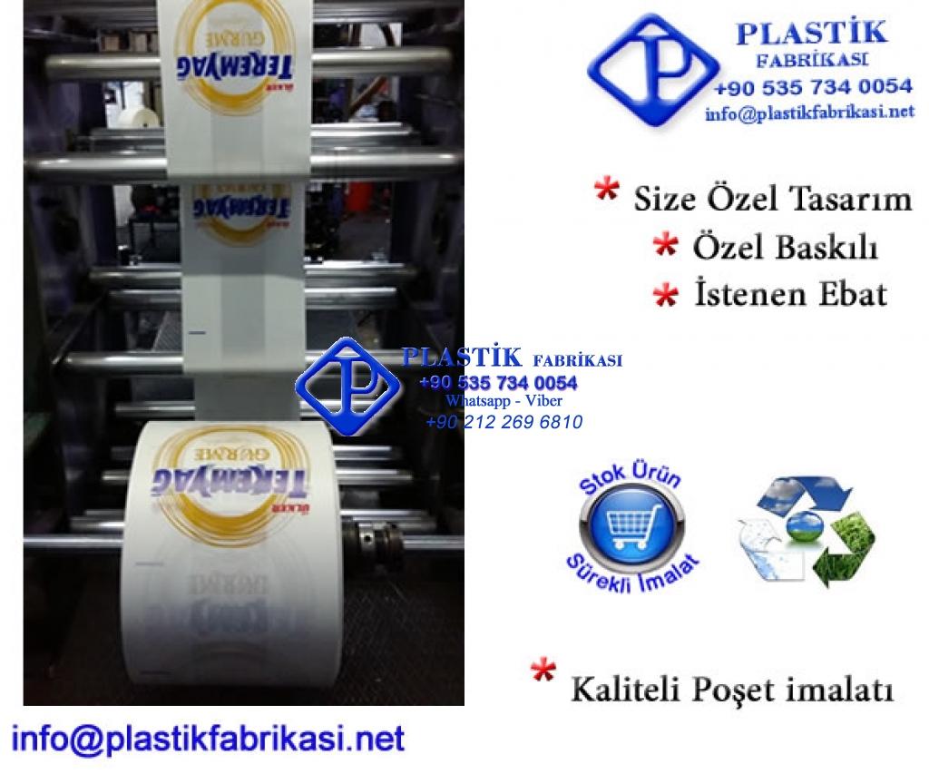 Özel Baskılı Mağaza Poşeti Plastik Poşet Asetat PP Pvc Pet Şeffaf Sızdırmaz Kap