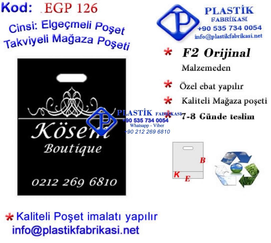 Özel Baskılı Takviyeli Poşet 126 Plastik Poşet Asetat PP Pvc Pet Şeffaf Sızdırmaz Kap