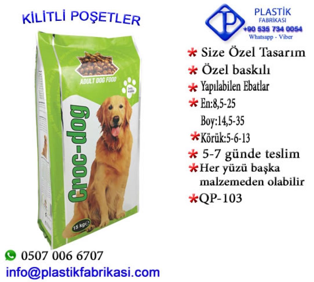Quadro poşet imalatı yapılır. QP-103 Plastik Poşet Asetat PP Pvc Pet Şeffaf Sızdırmaz Kap