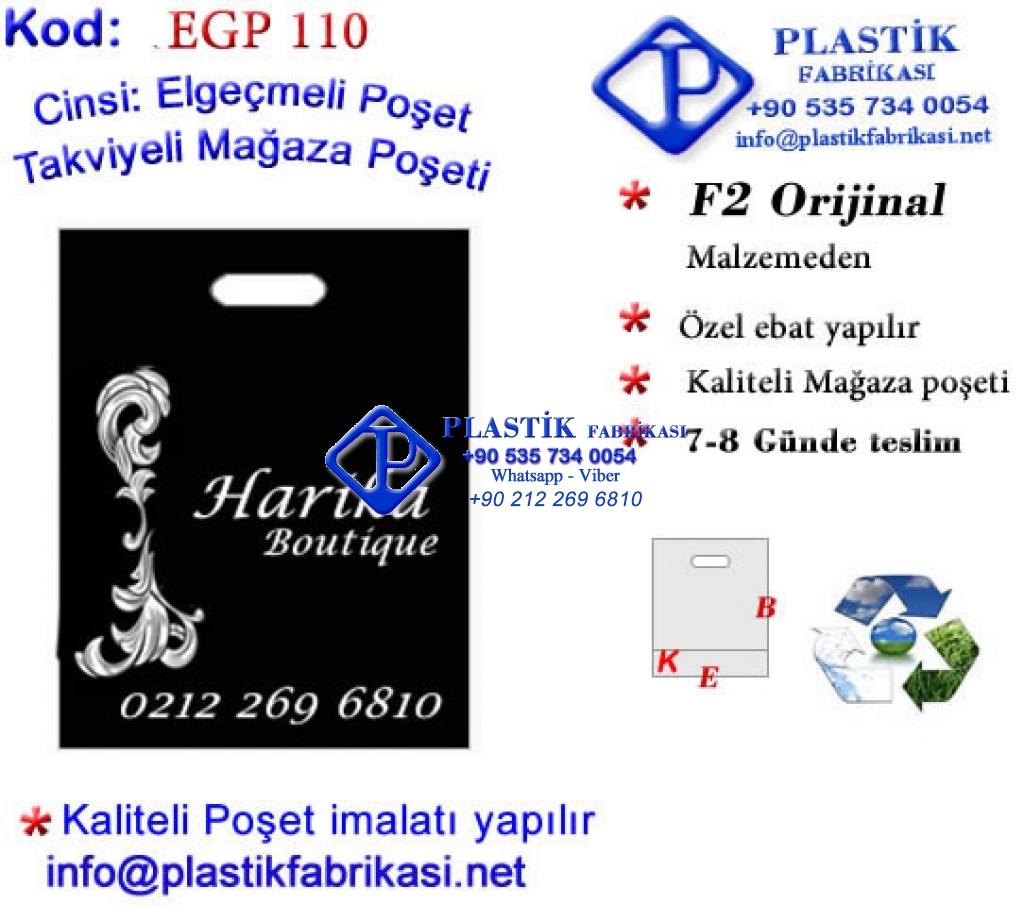 Özel Baskılı Mağaza Poşeti 110 Plastik Poşet Asetat PP Pvc Pet Şeffaf Sızdırmaz Kap