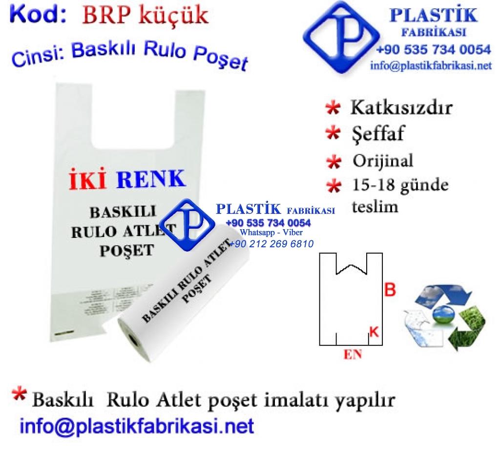 Logo Baskılı Rulo atlet poşet Plastik Poşet Asetat PP Pvc Pet Şeffaf Sızdırmaz Kap