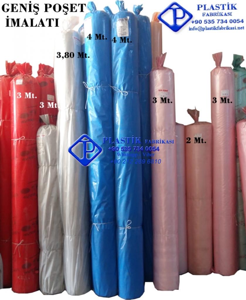 İstenen genişlikte Rulo poşet imalatı Plastik Poşet Asetat PP Pvc Pet Şeffaf Sızdırmaz Kap